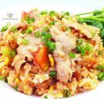 Fried Rice with - ข้าวผัดหมู 🇹🇭