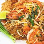 Pad Thai with Fresh Prawn - ผัดไทกุ้งสด 🇹🇭